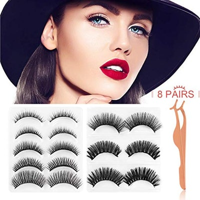 JDO False Eyelashes (8 Pairs)