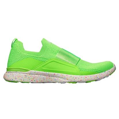Techloom Bliss Sneaker in Neon Green/White/Speckle