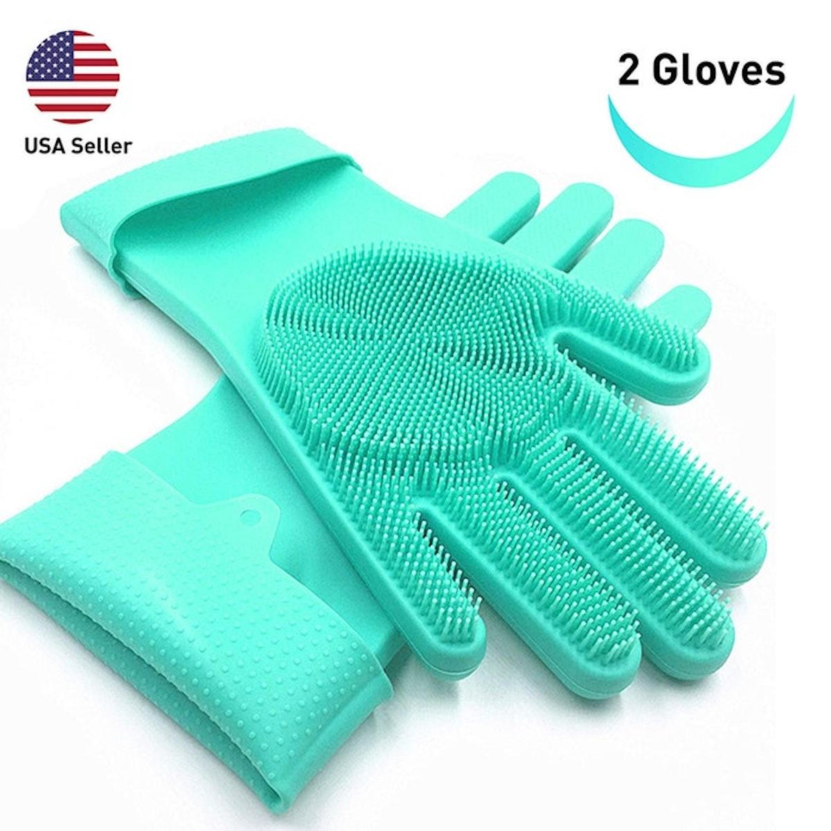 SolidScrub Magic Silicone Gloves