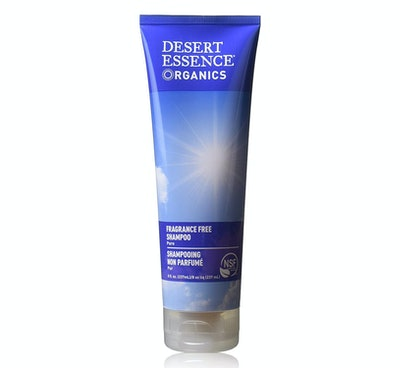 Desert Essence Organics Hair Care Shampoo, Fragrance Free (2-Pack)