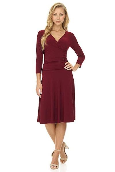 Rekucci Crossover Dress