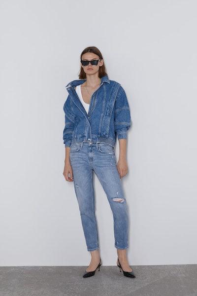 ZW Premium Slim Boyfriend Jeans In Laguna Beach