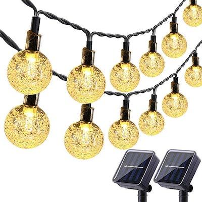 Lyhope Solar Outdoor String Lights (2-Pack)