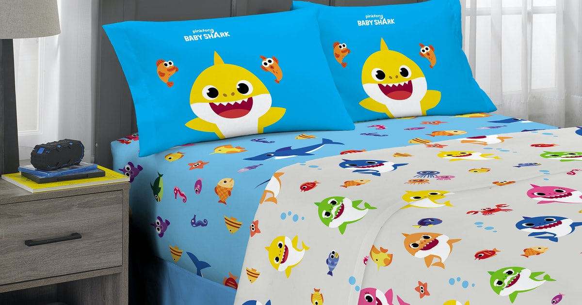 Baby Shark Bedding At Walmart Is Officially A Thing