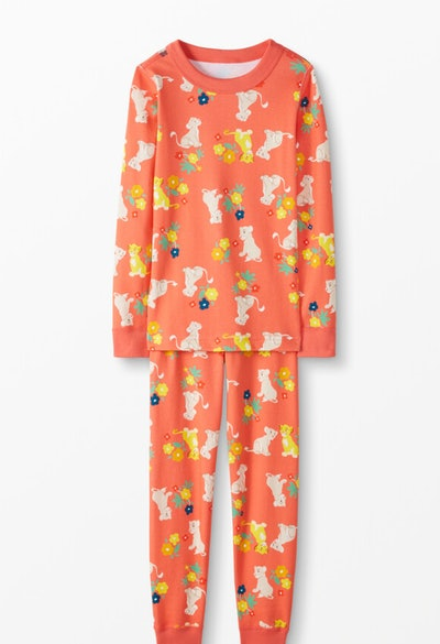 Disney's The Lion King Long John Pajamas In Organic Cotton