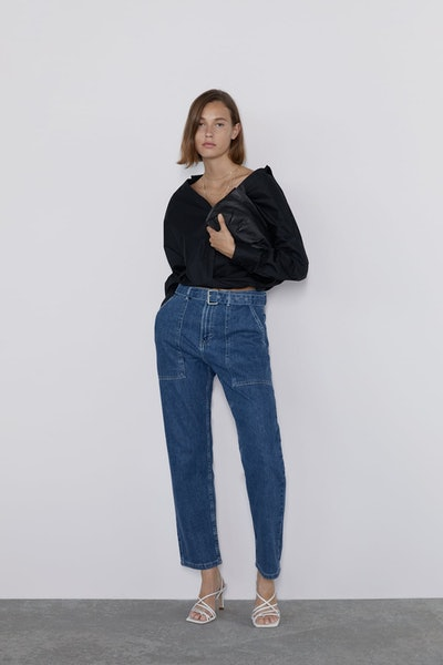 Baggy Pants With Belt
