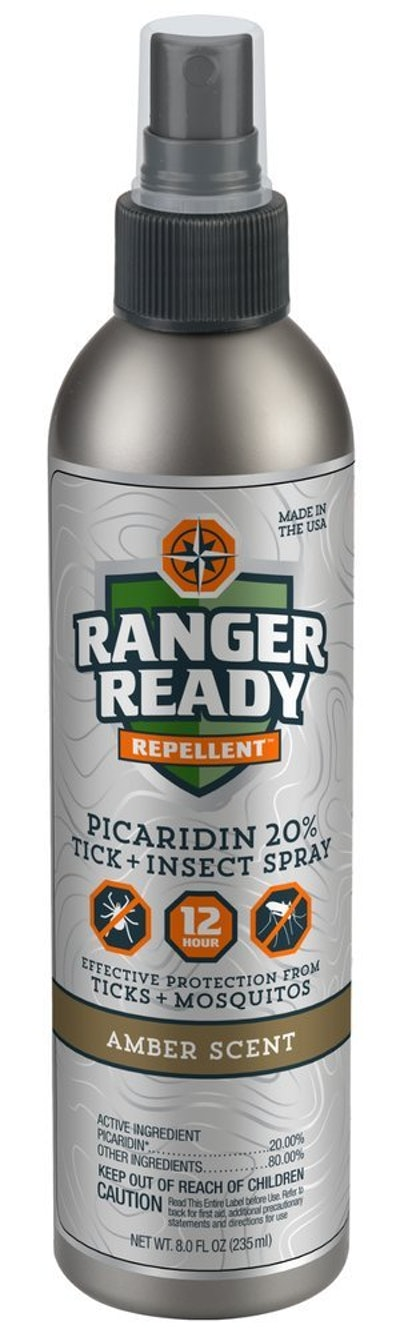 Ranger Ready Picaridin 20% Tick + Insect Repellent Fine Mist Spray