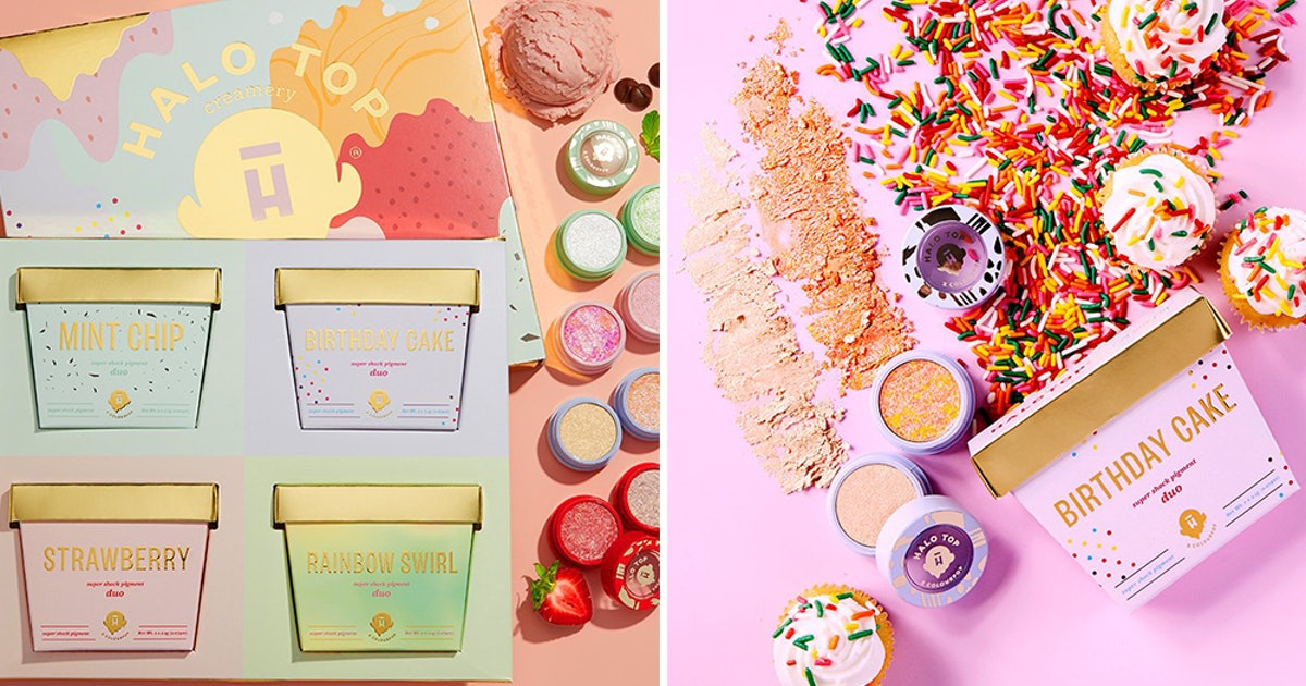 Where To Get The ColourPop x Halo Top Collection, With Summery Shadow Shades Good Enough To Eat