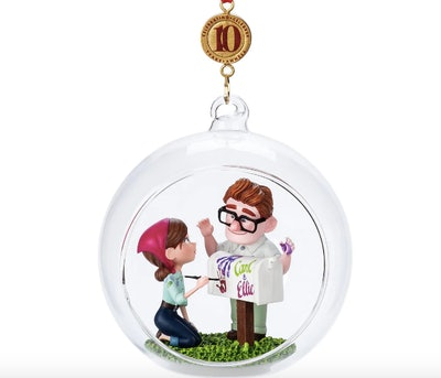 Carl and Ellie Legacy Sketchbook Ornament - Up - Limited Release