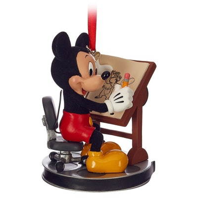 Mickey Mouse Animator Sketchbook Ornament