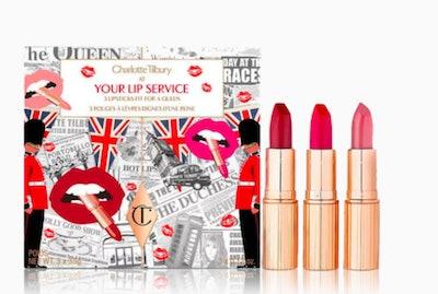 Charlotte Tilbury Your Lip Service Royal Lipstick Trio