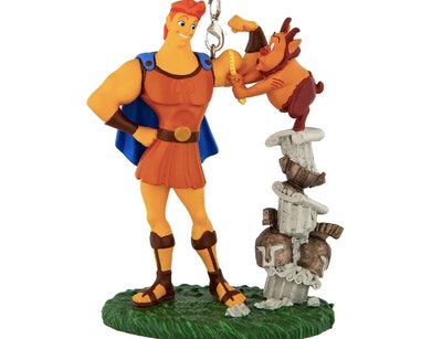 Hercules and Phil Figural Ornament