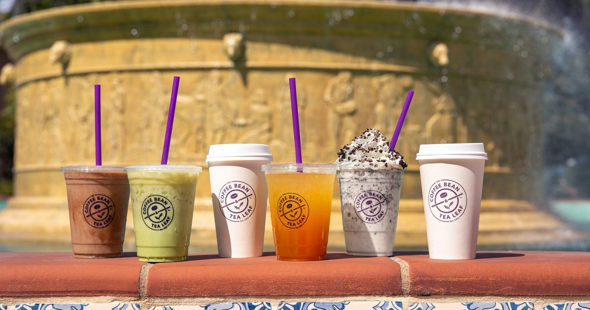 The 'Friends' Drinks From The Coffee Bean & Tea Leaf Are So Great, You'll Want Them All