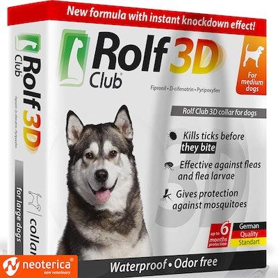 Rolf 3D Flea Collar