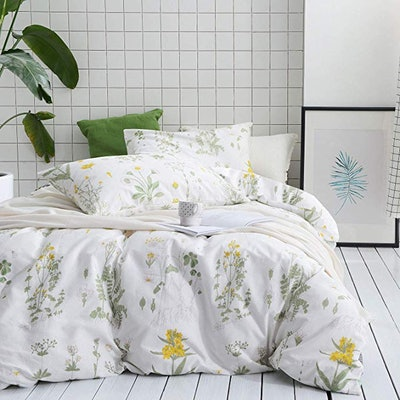 Wake In Cloud - Botanical Duvet Cover Set
