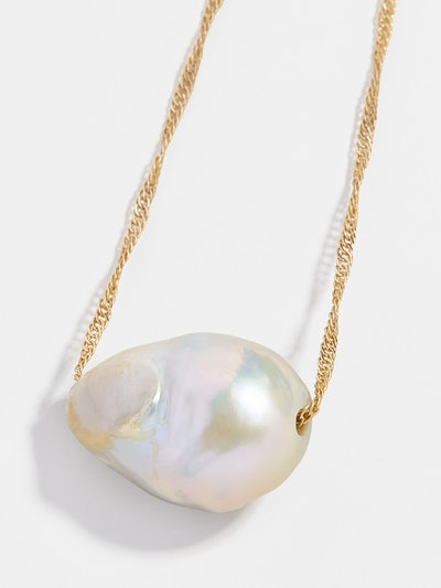 Aprille Pearl Pendant Necklace