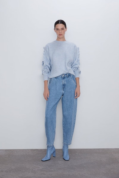 Slouchy Z1975 Jeans With Darts