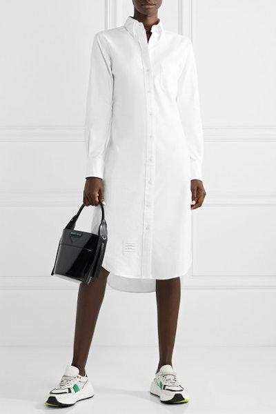 Cotton Oxford dress