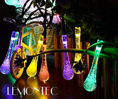 Lemontec Solar String Lights (2-Pack)