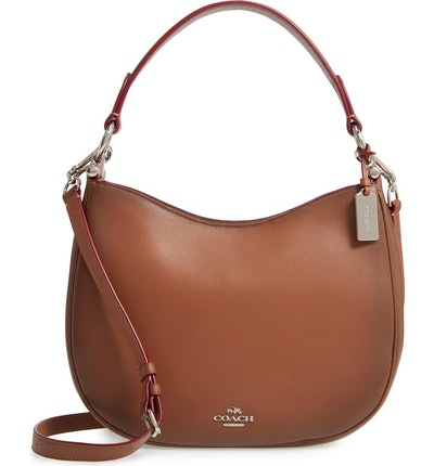 Coach Nomad Burnished Leather Crossbody Bag