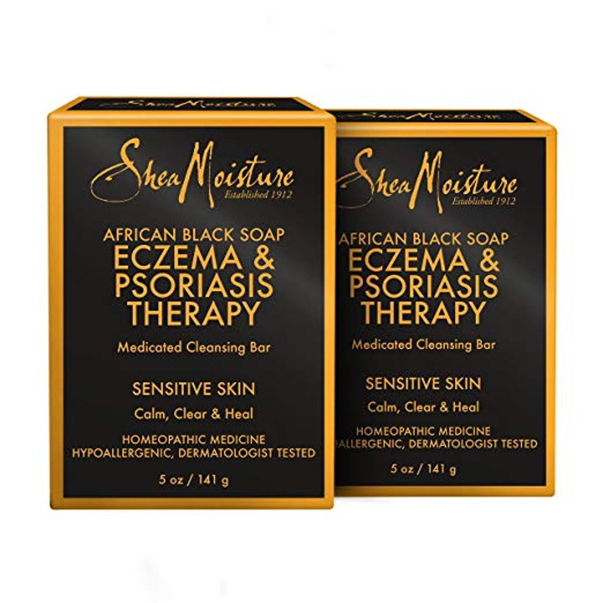 Shea Moisture African Black Soap Eczema & Psoriasis Therapy (2-Pack)