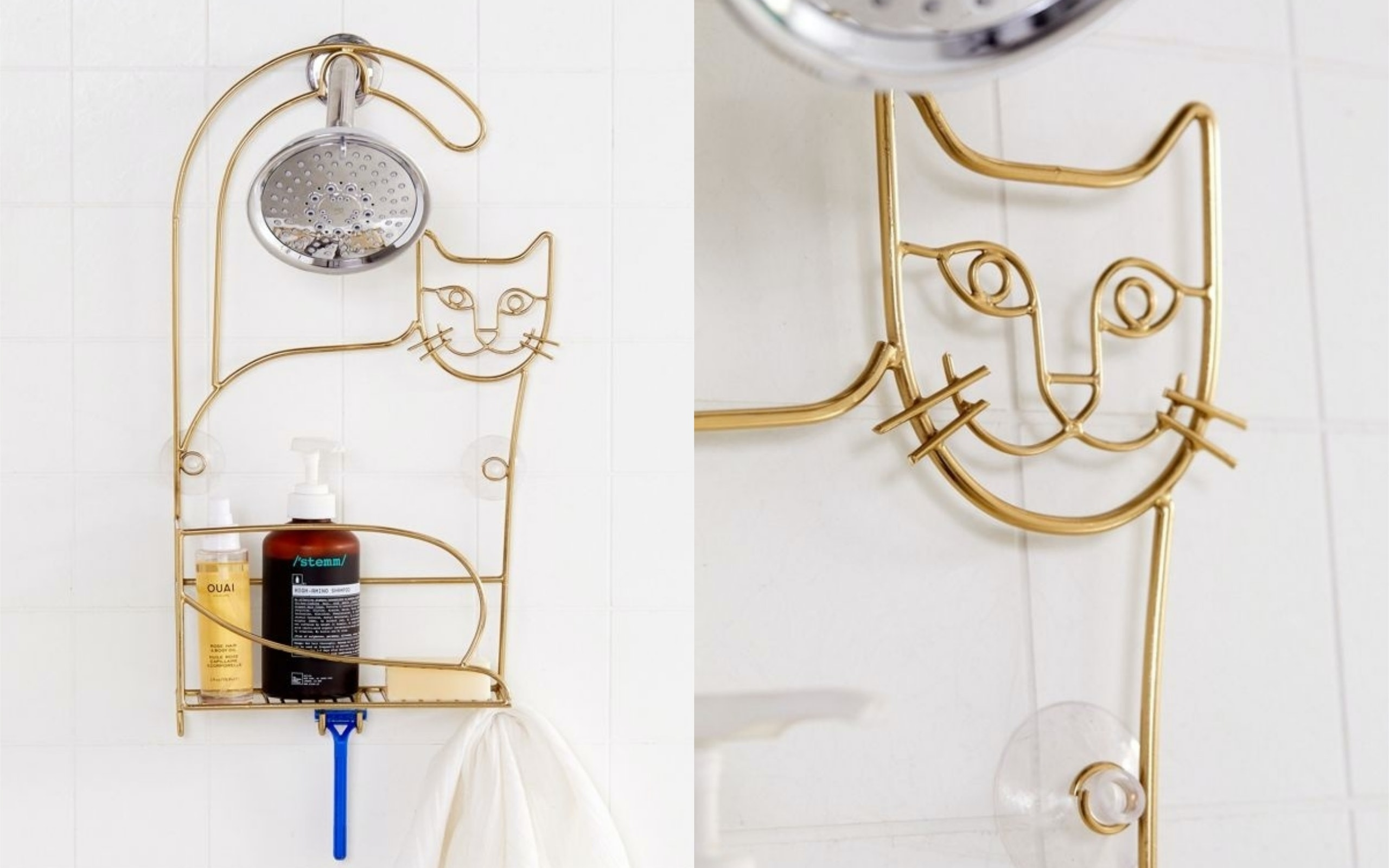 This Cat Shower Caddy From Urban Outfitters Will Bring Joy