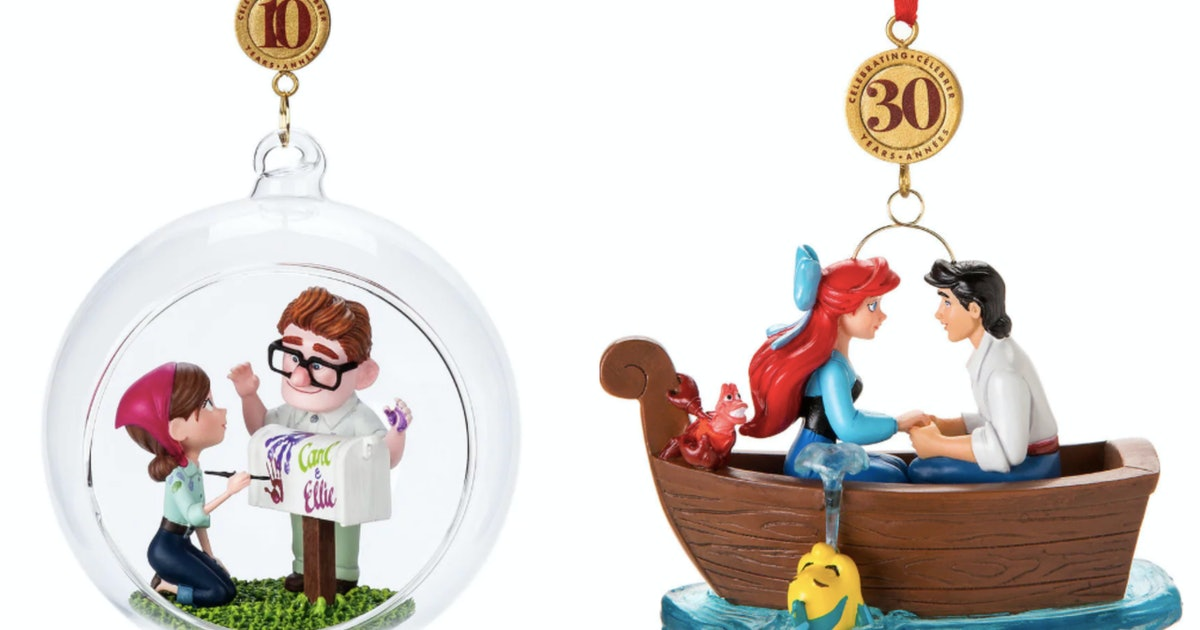 Disney's Christmas Ornaments For 2019 Dropped In July & You'll Want Every One
