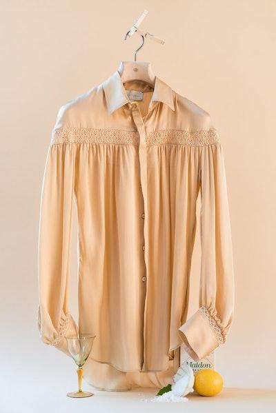The Amelia Silk Shirt