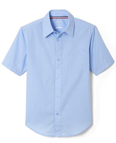 Boys' Short Sleeve Poplin Dress Shirt