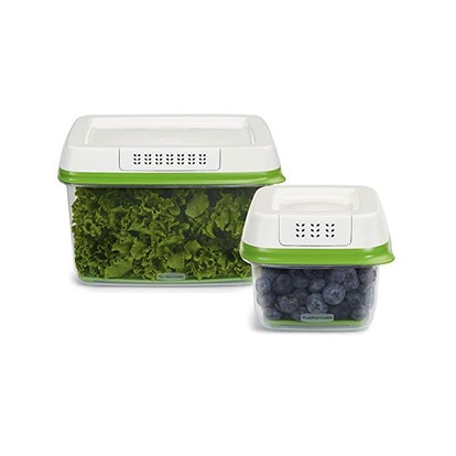 Rubbermaid FreshWorks Produce Saver Food Storage Containers (2-Pack)