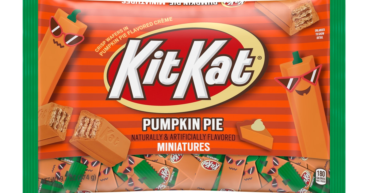 Pumpkin Pie Kit Kats Are Back For Halloween 2019, Praise The Great Pumpkin
