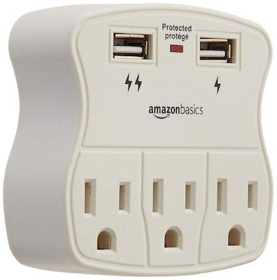 AmazonBasics 3-Outlet Surge Protector