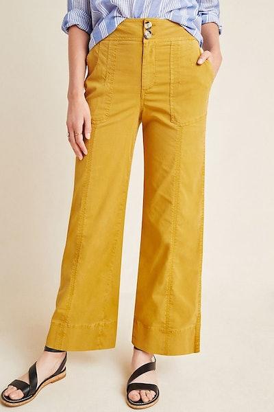 Franca Wide-Leg Carpenter Pants