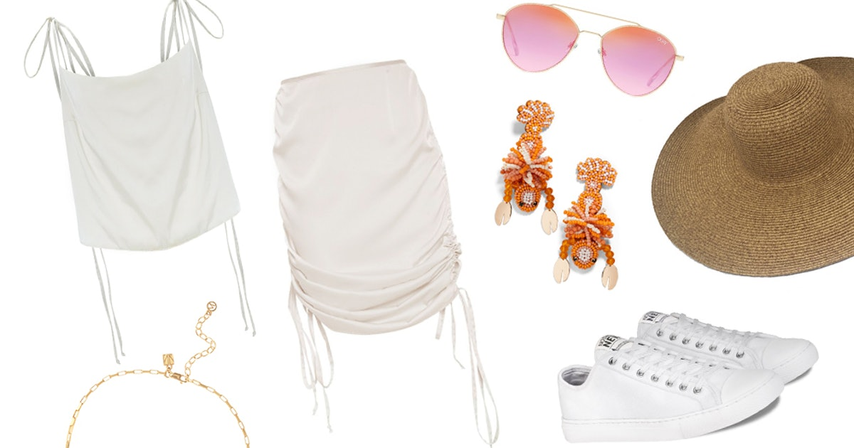 3 Lightweight Summer 2019 Outfits To Keep You Feeling Cool & Looking Cute, Even In A Heat Wave