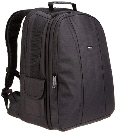AmazonBasics DSLR Camera And Laptop Backpack Bag
