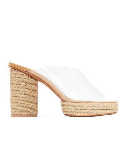 Rocio Clear Espadrille Sandal