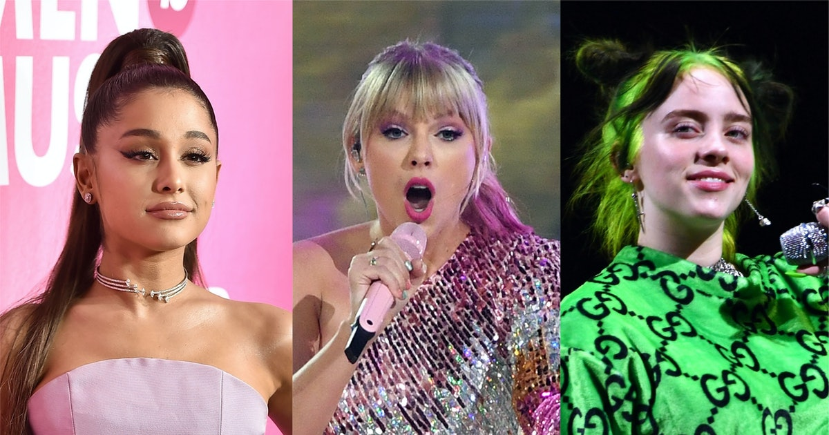 Ariana Grande & Taylor Swift Tied For Most 2019 VMA Nominations, Because They Slayed