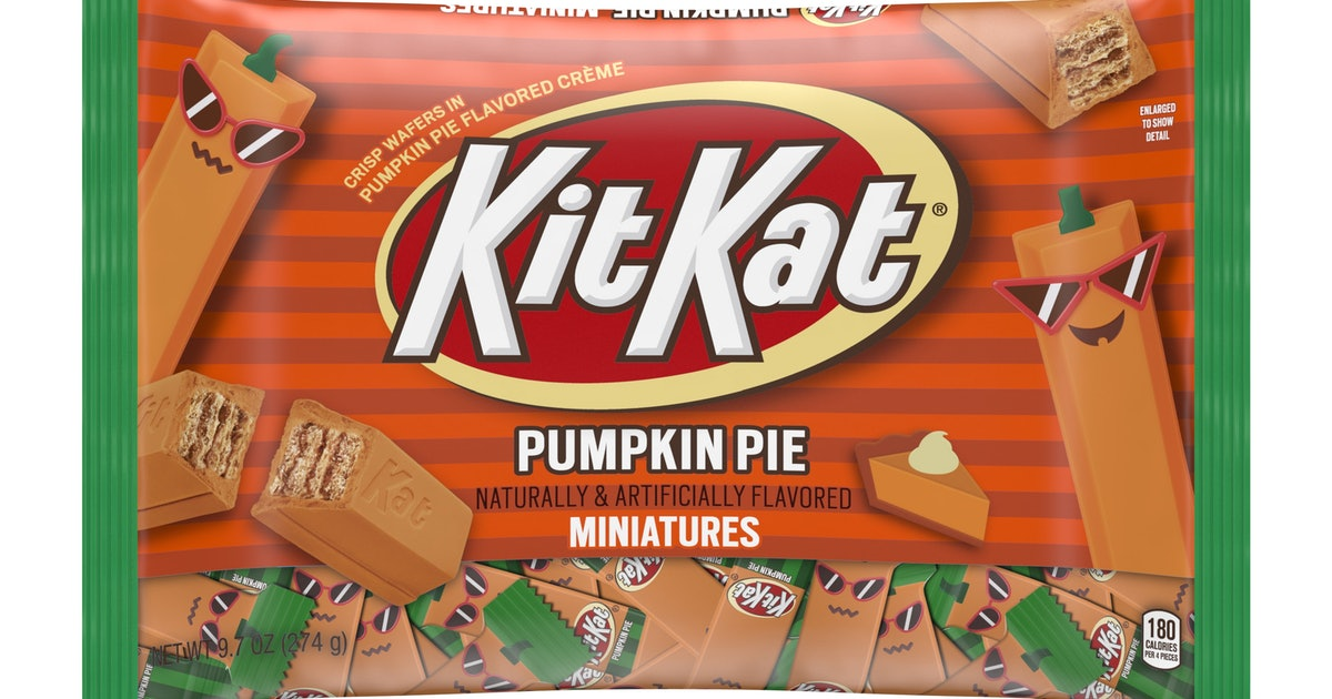 Pumpkin Pie Kit Kats Are Back For Halloween 2019, So Get Ready To Stock Up