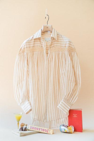 The Amelia Cotton Silk Shirt