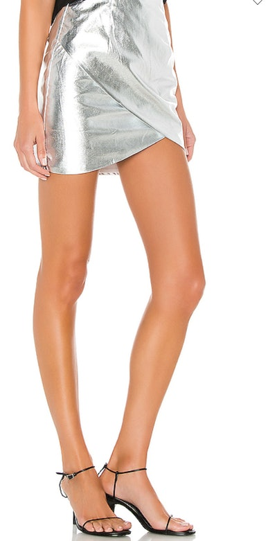 Charmaine Wrap Mini Skirt