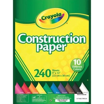Crayola Construction Paper