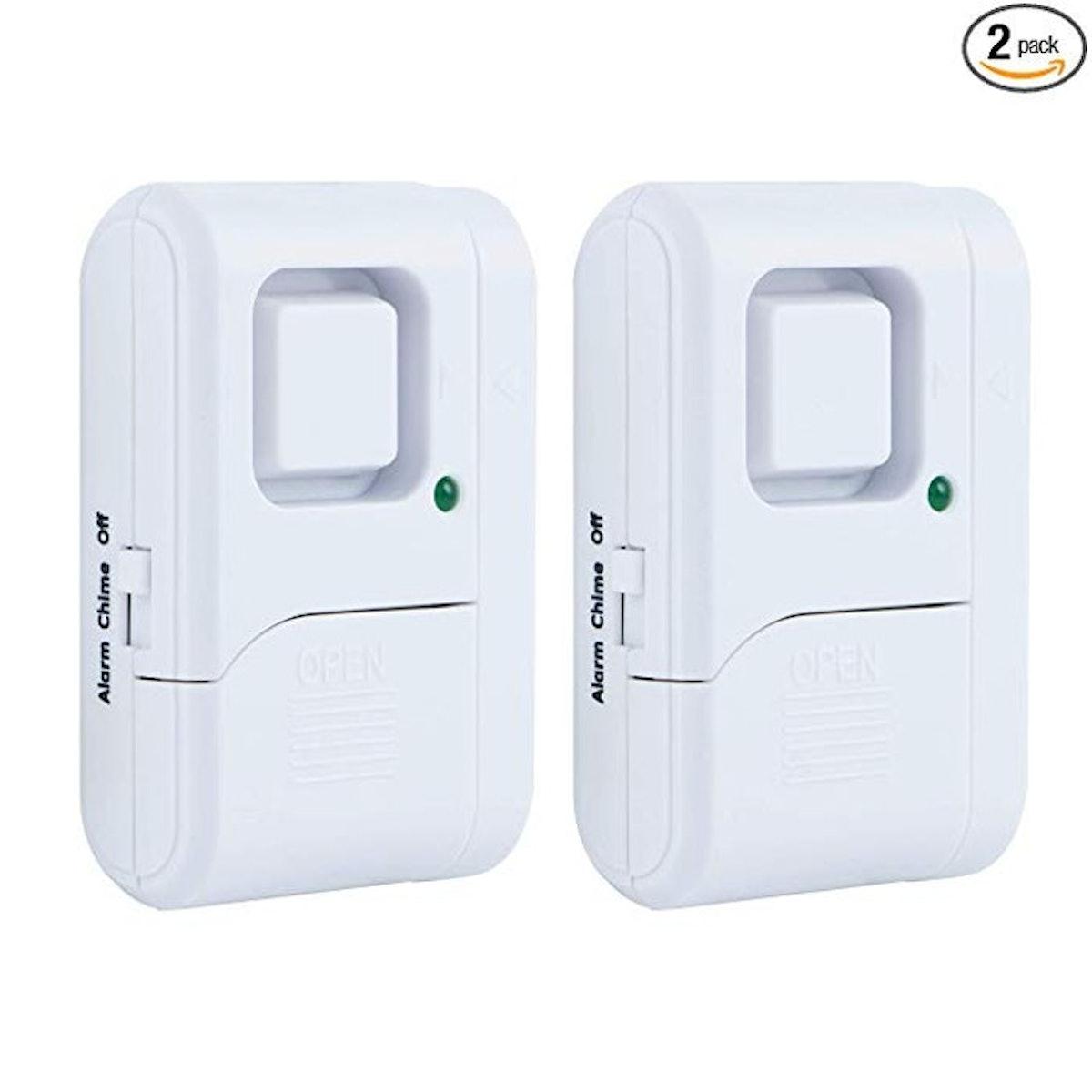 GE Personal Security Window/Door Alarm (2-Pack)