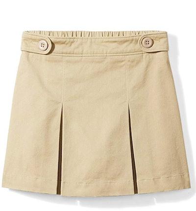Amazon Essentials Girls' Uniform Skort