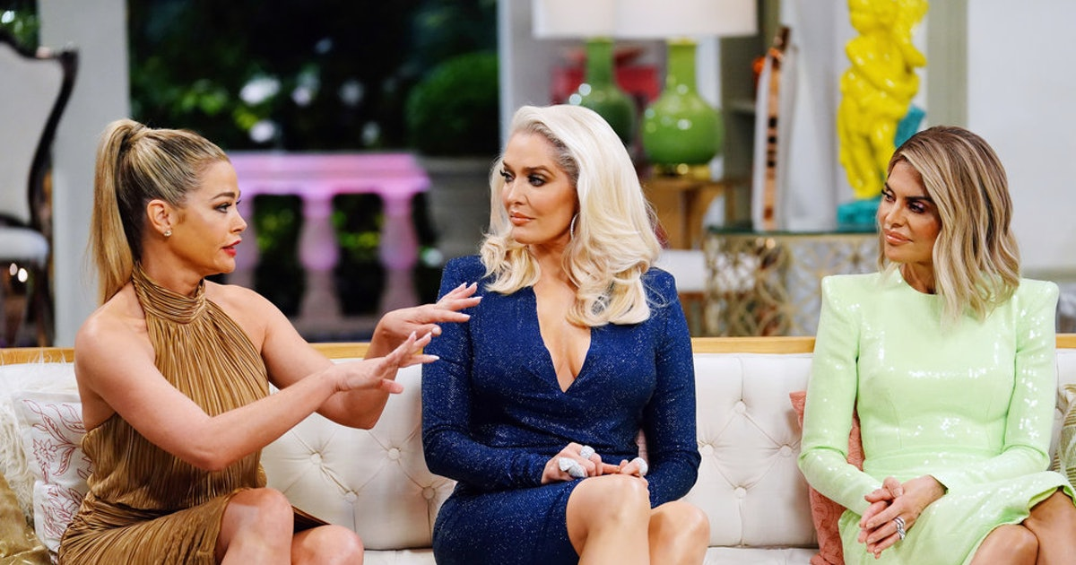 Denise Richards & Camille Grammer's 'RHOBH' Reunion Fight Is Just Bizarre