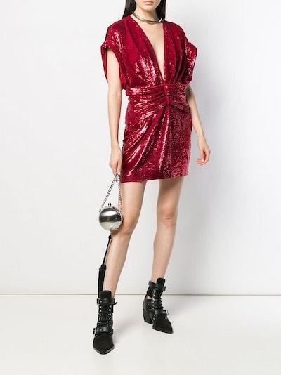 Lilou Sequined Mini Dress