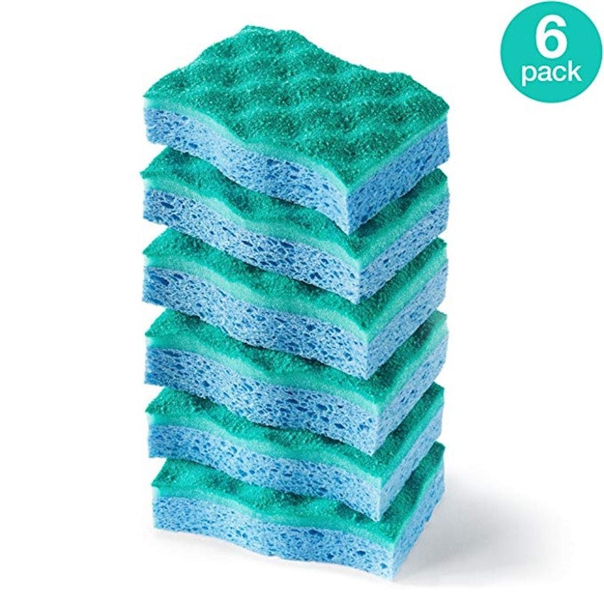 O-Cedar Multi-Use Scrunge Scrub Sponge (6-Pack)
