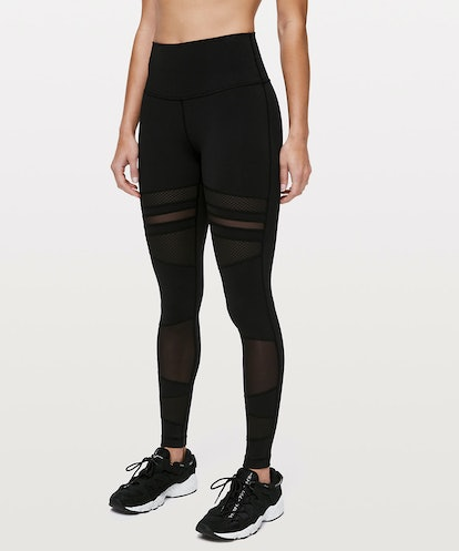 """Wunder Under High-Rise Tight 28""""  Mix & Mesh"""