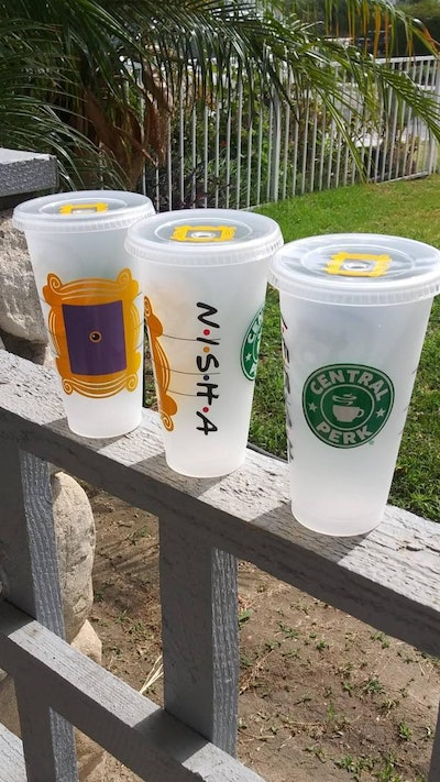 Friends TV Show Inspired Starbucks Cup