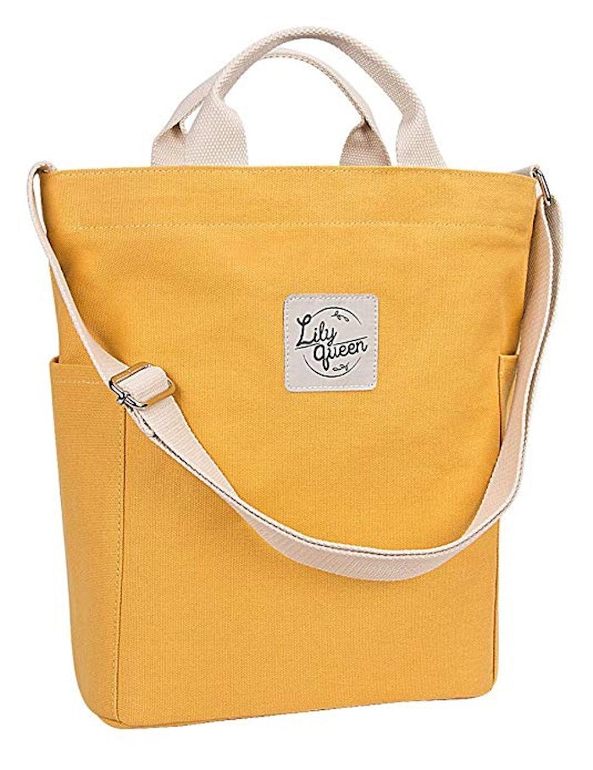 Lily Queen Women Canvas Tote Handbags