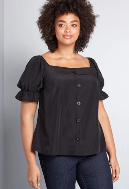 Delivered Bliss Woven Top